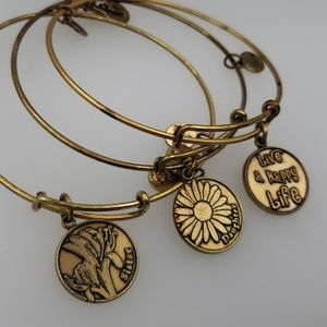 Alex and Ani Jewelry - Alex and Ani set of 3 preloved